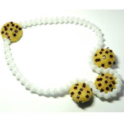 Cookies and Cream Necklace