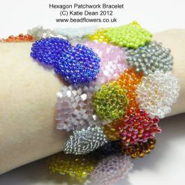 Hexagon Patchwork Bracelet