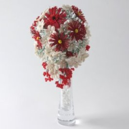 Teardrop Bouquet Kit, Katie Dean, bead flowers