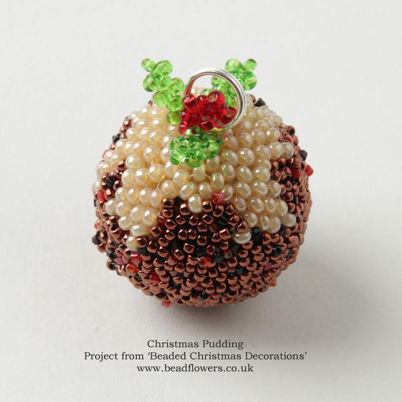 Beaded Christmas Decorations, Katie Dean, Beadflowers