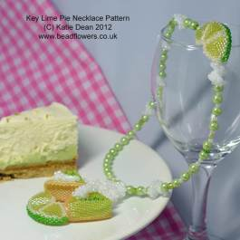 Key Lime Pie Necklace Pattern