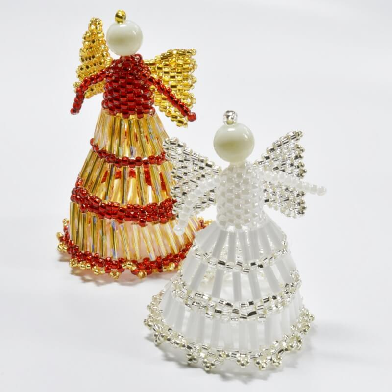 Beaded Angel Pattern