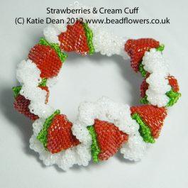 Beading Trends 2017: Strawberry Bracelet