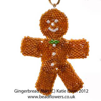 Beaded Gingerbread Man Kit