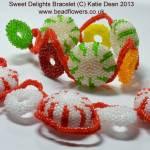 Sweet Delights bracelet pattern