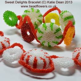 Sweet Delights bracelet pattern
