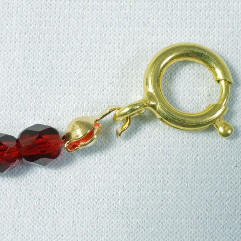 Adding Clasps to Beaded Jewellery