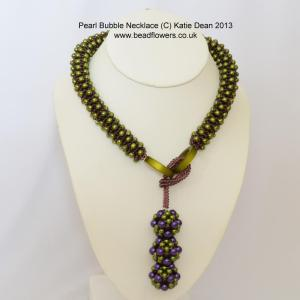 pearl bubble necklace