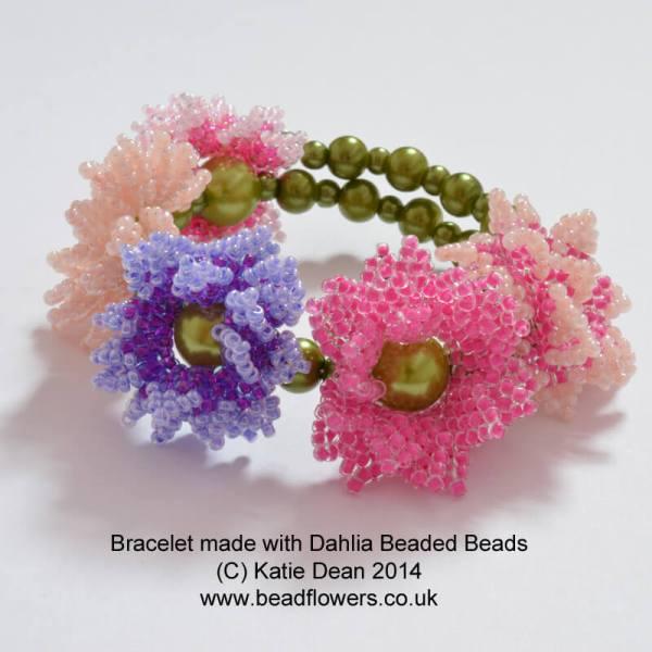 Dahlia Beaded Beads