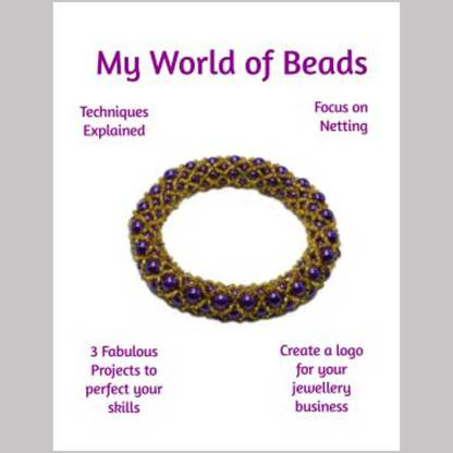 Netting Book, My World of Beads, guide to netting techniques, Katie Dean, Beadflowers