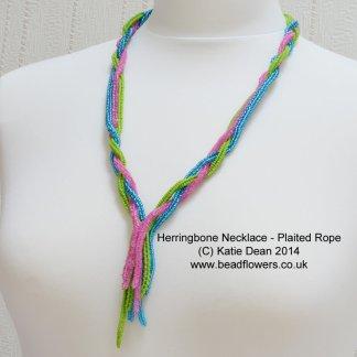 Beading Trends 2017: Herringbone Rope Necklace