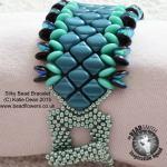 Silky Bead Tutorial: Silky Bead Bracelet