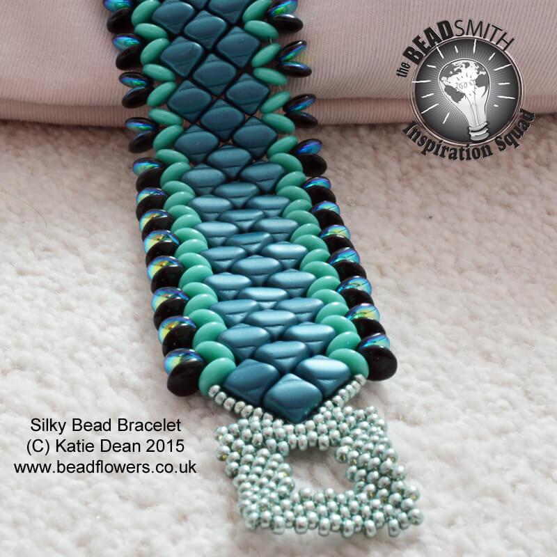 Silky Bead Tutorial: Cuff Bracelet