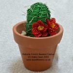 Beaded Cactus pattern