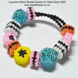 Liquorice Allsorts Pattern Bracelet