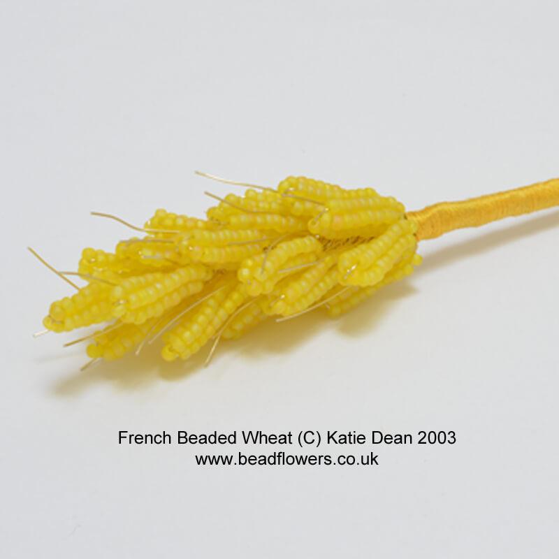 French beading wheat pattern