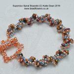 Superduo Spiral Bracelet