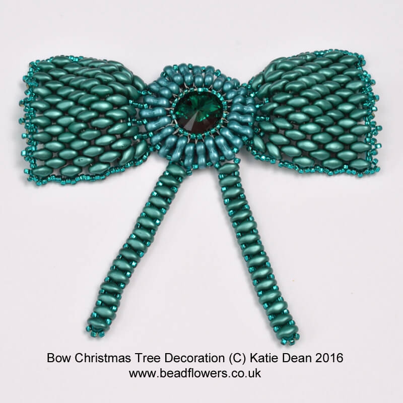 Bow Christmas Tree Decoration