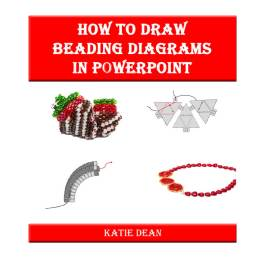How to draw beading diagrams in powerpoint, Katie Dean, Beadflowers