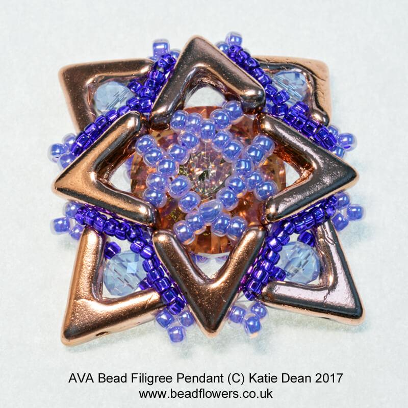 AVA bead pendant