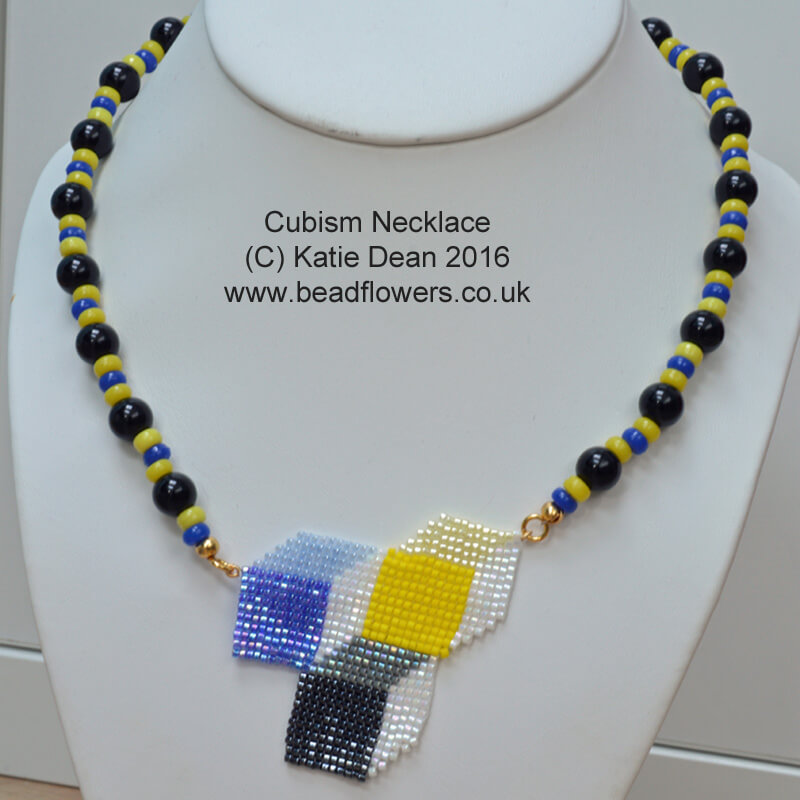 Cubist Necklace