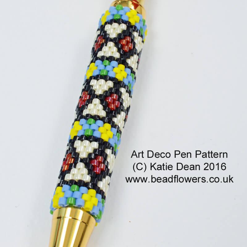 Art Deco Pen Pattern