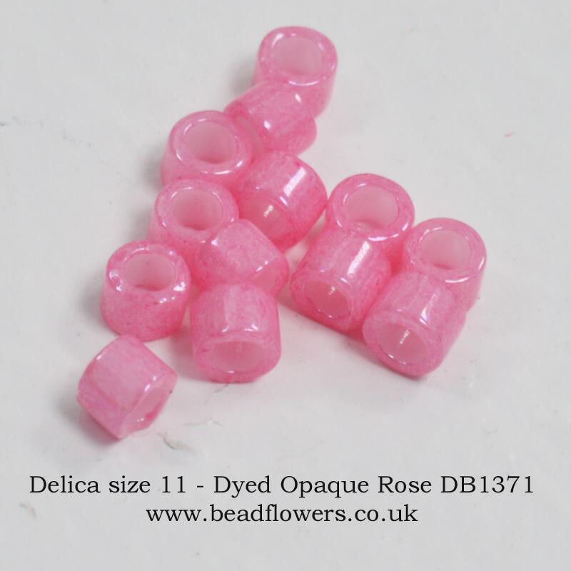Size 11 Delica Beads, 10g Packs, Katie Dean, Beadflowers, UK
