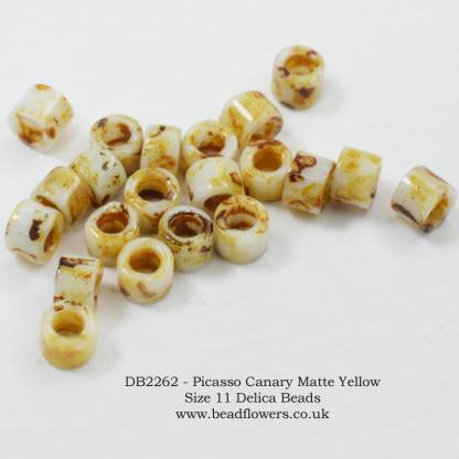 Size 11 Delica beads for sale UK, 10g packs, Katie Dean, Beadflowers