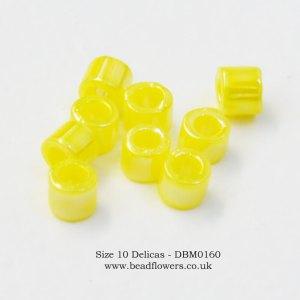 Size 10 Delicas, UK, Buy 10g packs from Katie Dean, Beadflowers