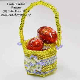 Beaded Easter Basket Pattern