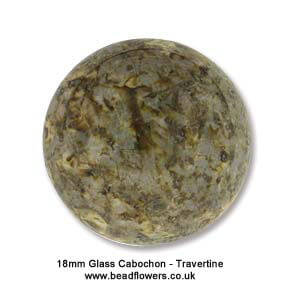 18mm Round Glass Cabochons