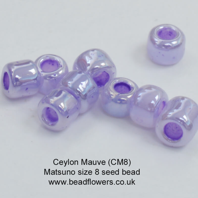 Size 8 seed beads