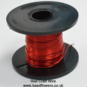 Coloured Copper Craft Wire
