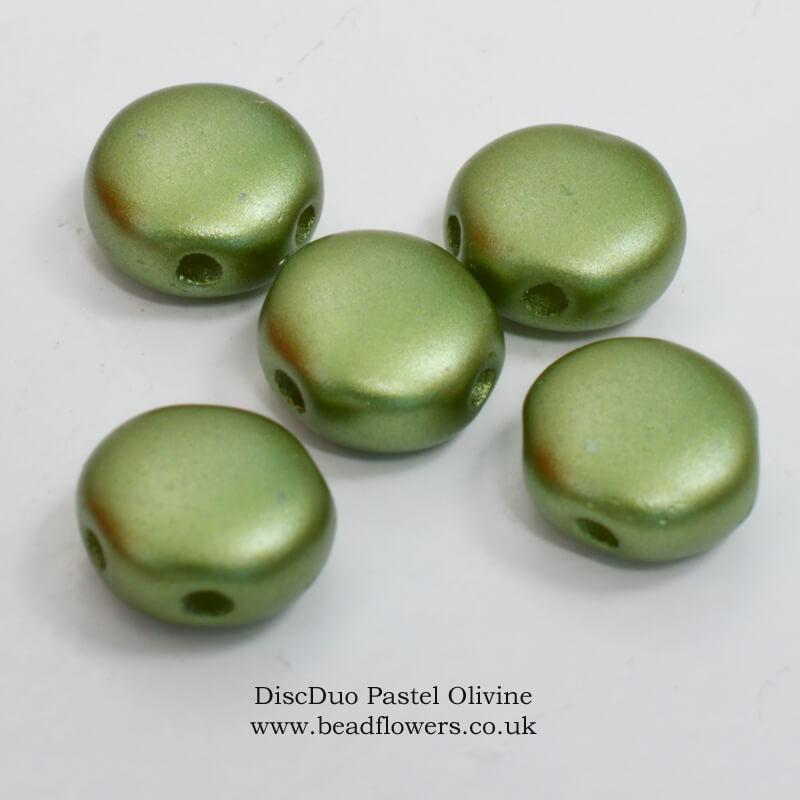 DiscDuo Beads, Katie Dean, Beadflowers
