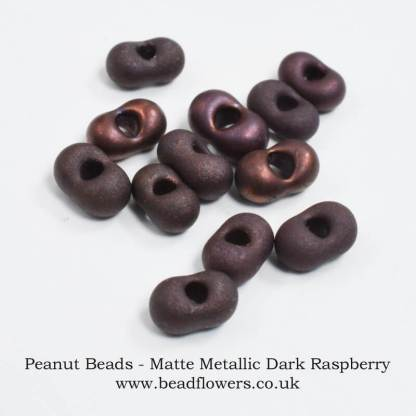 Peanut Beads, UK, 10g packs, Katie Dean, Beadflowers