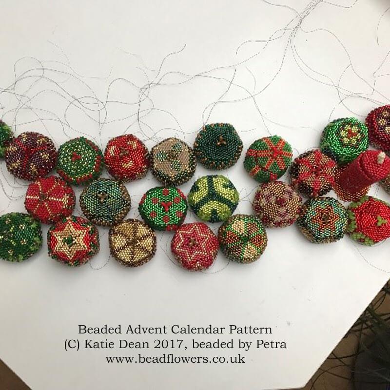 Beading Inspiration: Petra's Advent Calendar