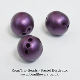 RounTrio beads UK, Katie Dean, Beadflowers