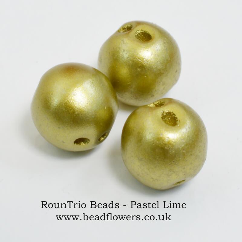 RounTrio beads UK, Katie Dean, Beadflowers