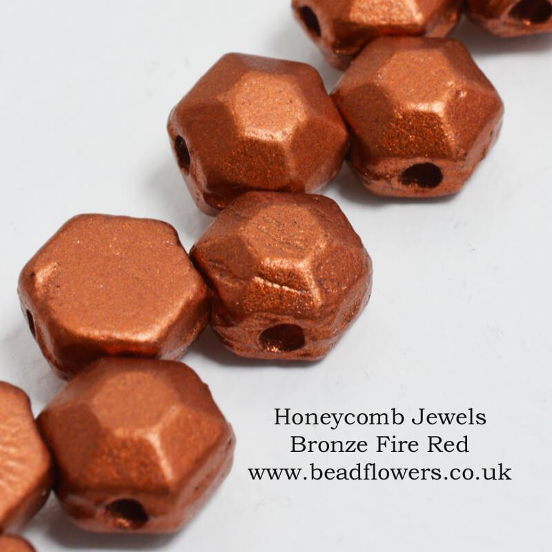 Honeycomb Jewel Beads UK, Katie Dean, Beadflowers