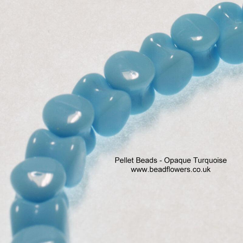 Pellet Beads, UK, 30 per strand, Katie Dean, Beadflowers