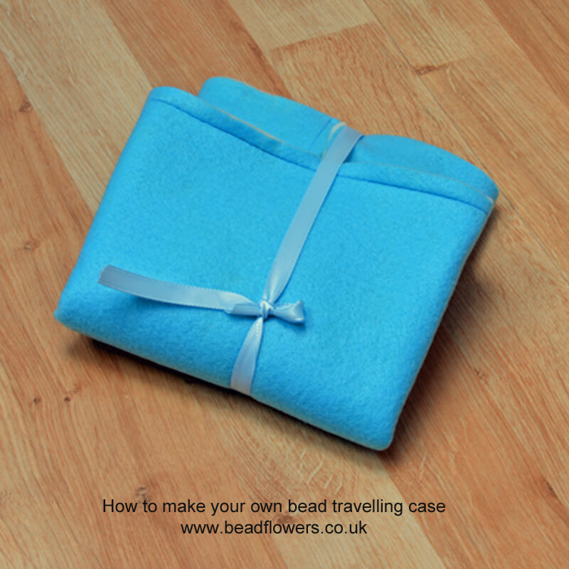 Bead travel case: how to make your own for free, Katie Dean, Beadflowers