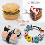 The Bead Diet, blog by Katie Dean, Beadflowers