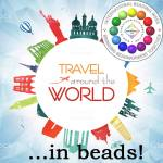 Bead Travel, International Beading Week 2018, Katie Dean, Beadflowers
