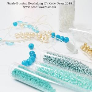 Stash-Busting Beadalong, Katie Dean, Beadflowers