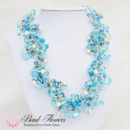 Ogalala butterfly necklace pattern, Katie Dean, Beadflowers