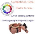International Beading Week Competition, Katie Dean, Beadflowers