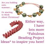 More beading project ideas, Katie Dean, Beadflowers