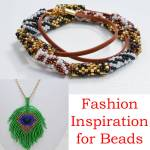 2019 fashion trends and beading inspiration, Katie Dean, Beadflowers