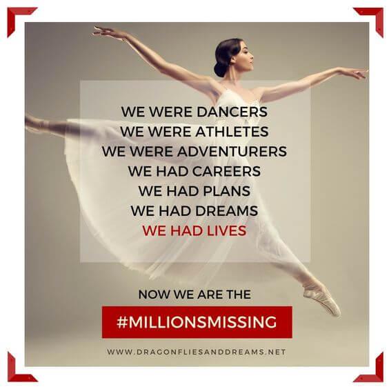 #MillionsMissing Campaign image