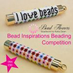 Bead Inspirations Beading Competition, Katie Dean, Beadflowers